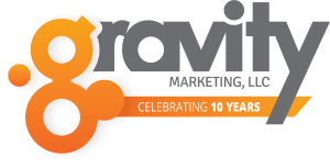 Gravity Marketing Celebrating 10 Years in Business