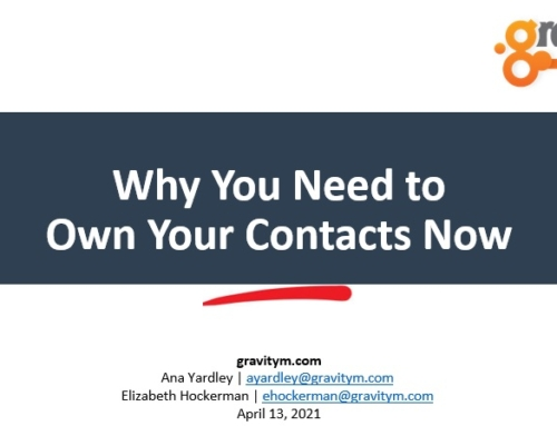 Own Your Contacts