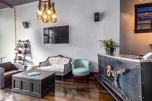 Portable Bar and Hangout Area