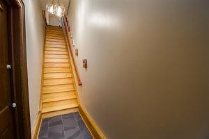 Urban Wood Stairs & Landing