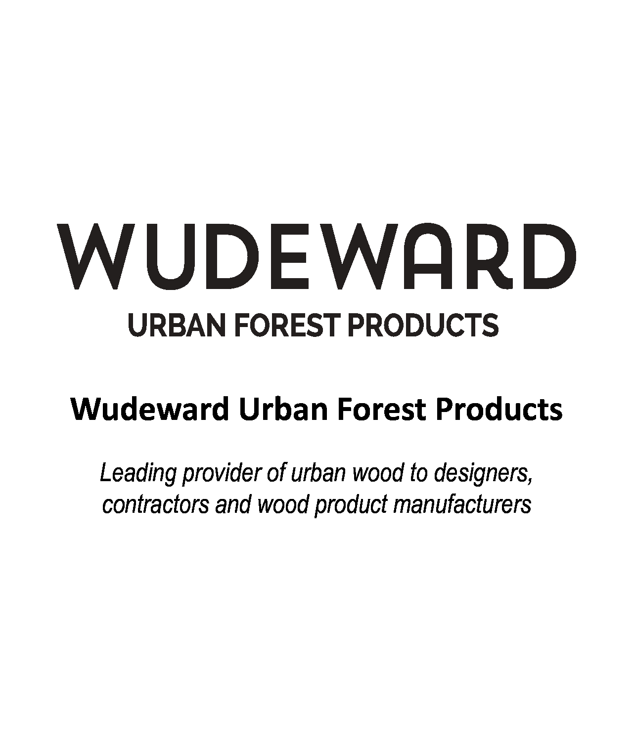 Wudeward Urban Forest Products